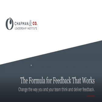 Formula For Feedback